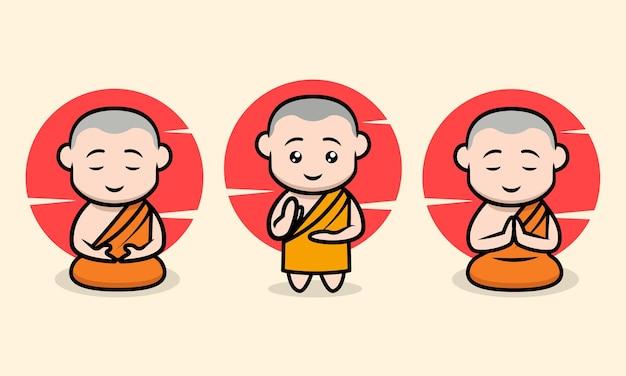 かわいい僧侶