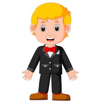 Cute businessman cartoon