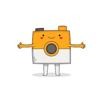 かわいいカメラの漫画のキャラクター