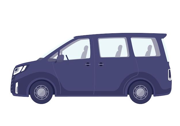 Cute car.minivan.sideways.