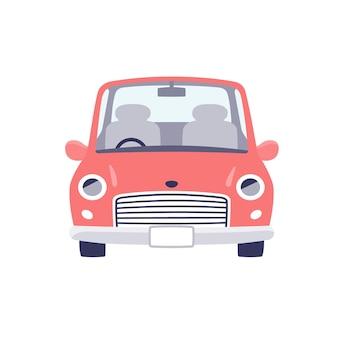Cute car.retro.