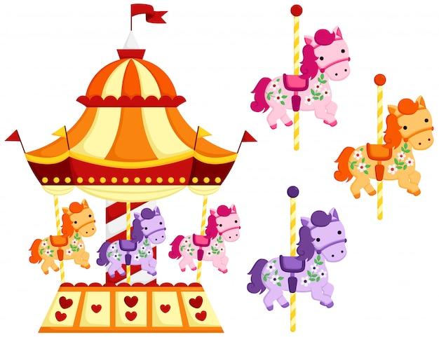Cute carousel