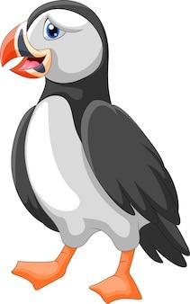 Милый мультфильм тупая птица