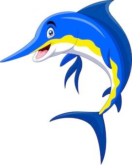 Милый мультфильм марлин рыбка улыбка