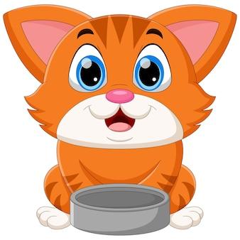 Милый кот мультфильм