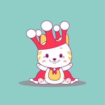 Милая кошка векторные иллюстрации