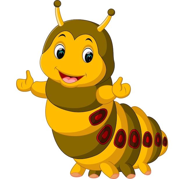 귀여운 애벌레 제시