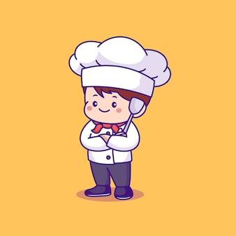 Мультфильм милый повар