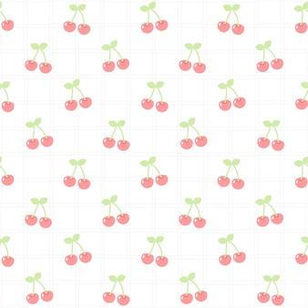 かわいい桜のシームレスパターン