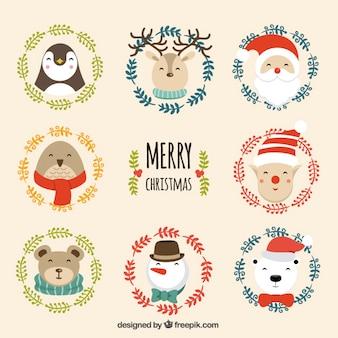 Cute christmas character