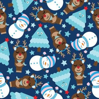 귀여운 크리스마스 패턴