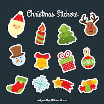 귀여운 크리스마스 스티커