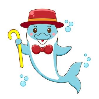 Милый цирк дельфин мультфильм