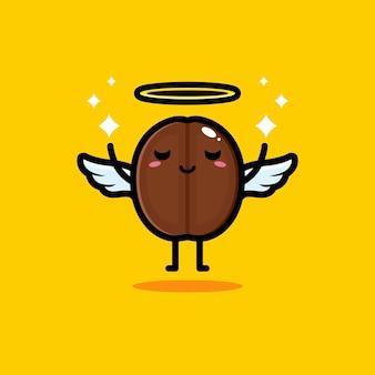 Милые кофейные зерна - ангелы