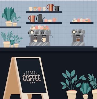 Cute coffee shop