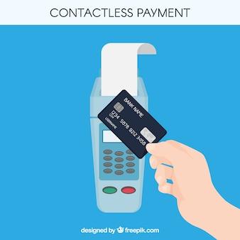 Composizione sveglia di pagamento senza contatto
