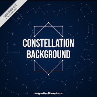 Cute constellations background