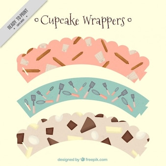 Cute cupcake wrappers