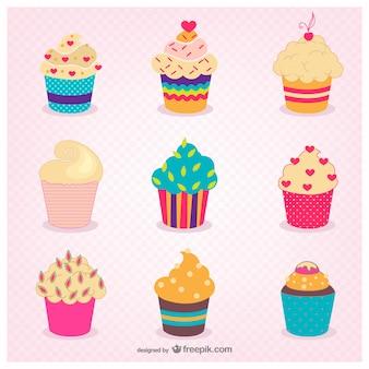 귀여운 컵 케이크
