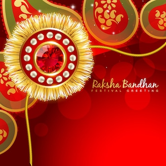 Cute design for raksha bandhan