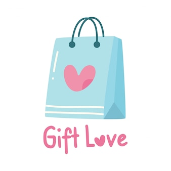 Cute design with gift bag