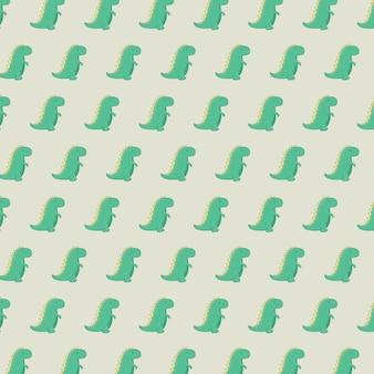Cute dinosaur pattern for template design