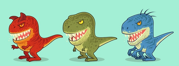 귀여운 공룡 캐릭터