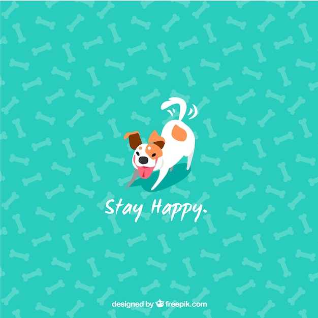Cute Dog Background
