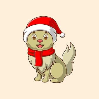 Милый мультфильм собаки