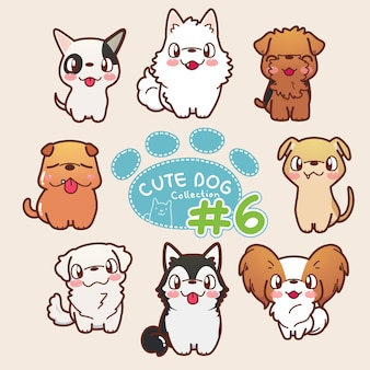 Cute dog collection 6