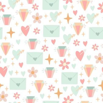 Cute doodle pattern