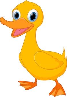 Симпатичный мультфильм утки