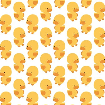 Cute duck pattern