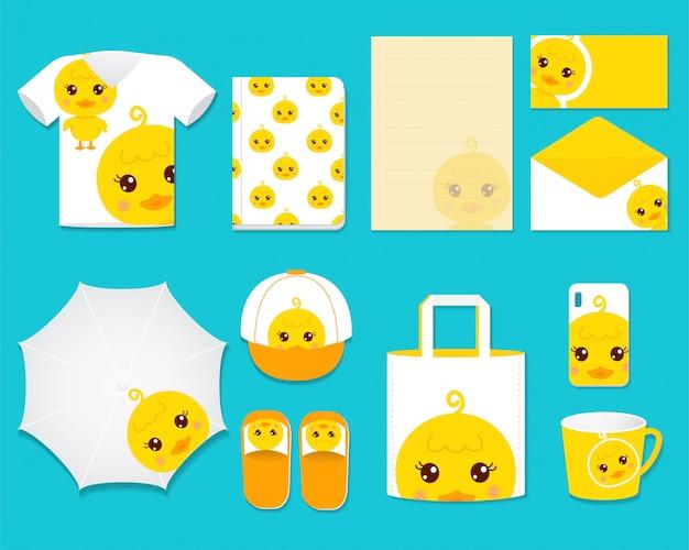 Cute duck графический подарочный набор