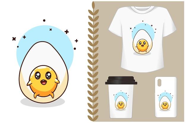 Симпатичные яйца мультфильм иллюстрации