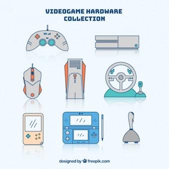 ビデオゲームのためのかわいい要素
