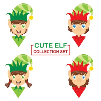 Cute elf collection set