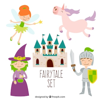 Cute fairytale set