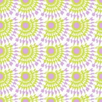 かわいいファッションシームレスなベクトルパターン。布や紙に印刷するには、パステルの抽象的な背景を使用できます。
