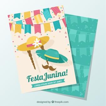 Cute festa junina cards