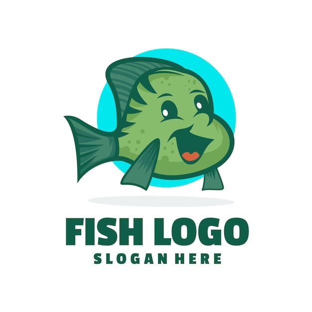 Милая рыбка 2 дизайн логотипа