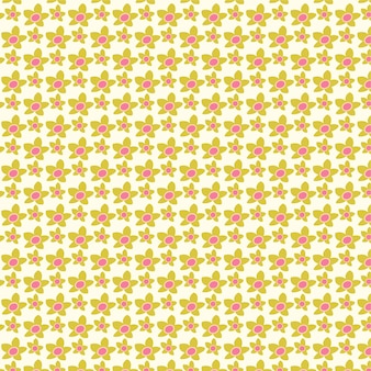 Симпатичный цветочный узор в маленьких цветках цветочный бесшовный узор вектор текстуры