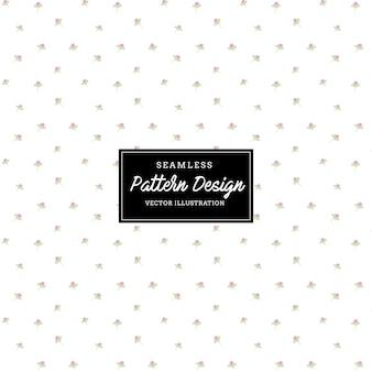 귀여운 꽃 패턴. 나뭇잎과 꽃 손으로 그린, 초대장, 결혼식 또는 인사말 카드 디자인