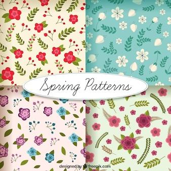 Cute flowery patterns