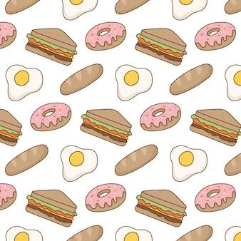 Cute food pattern