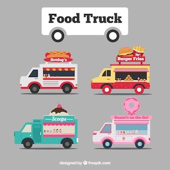 귀여운 음식 트럭 모음