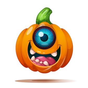 Cute, funny, crazy pumpkin characters.