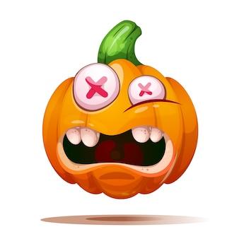 Cute, funny pumpkin characters.