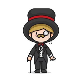 Cute gentleman