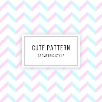 Cute geometric pattern